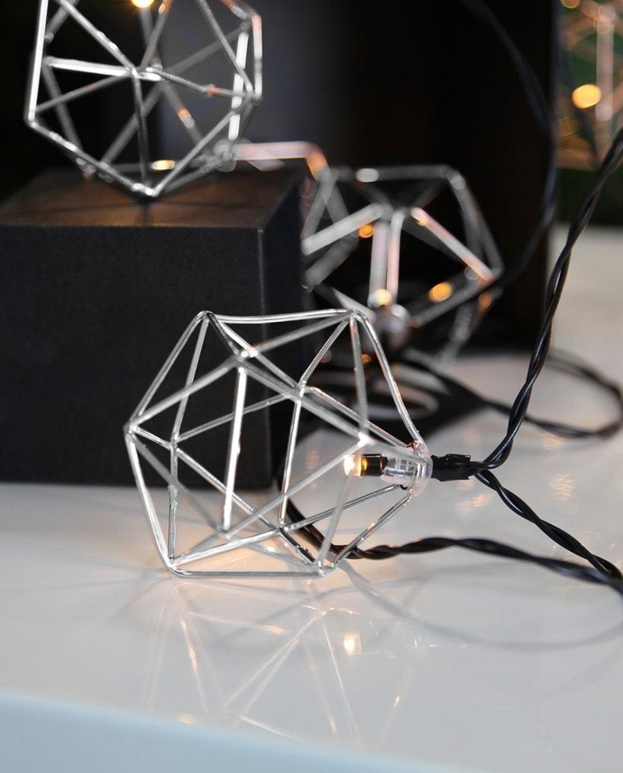 Edge Lysslynge 10 LED Sølv-0