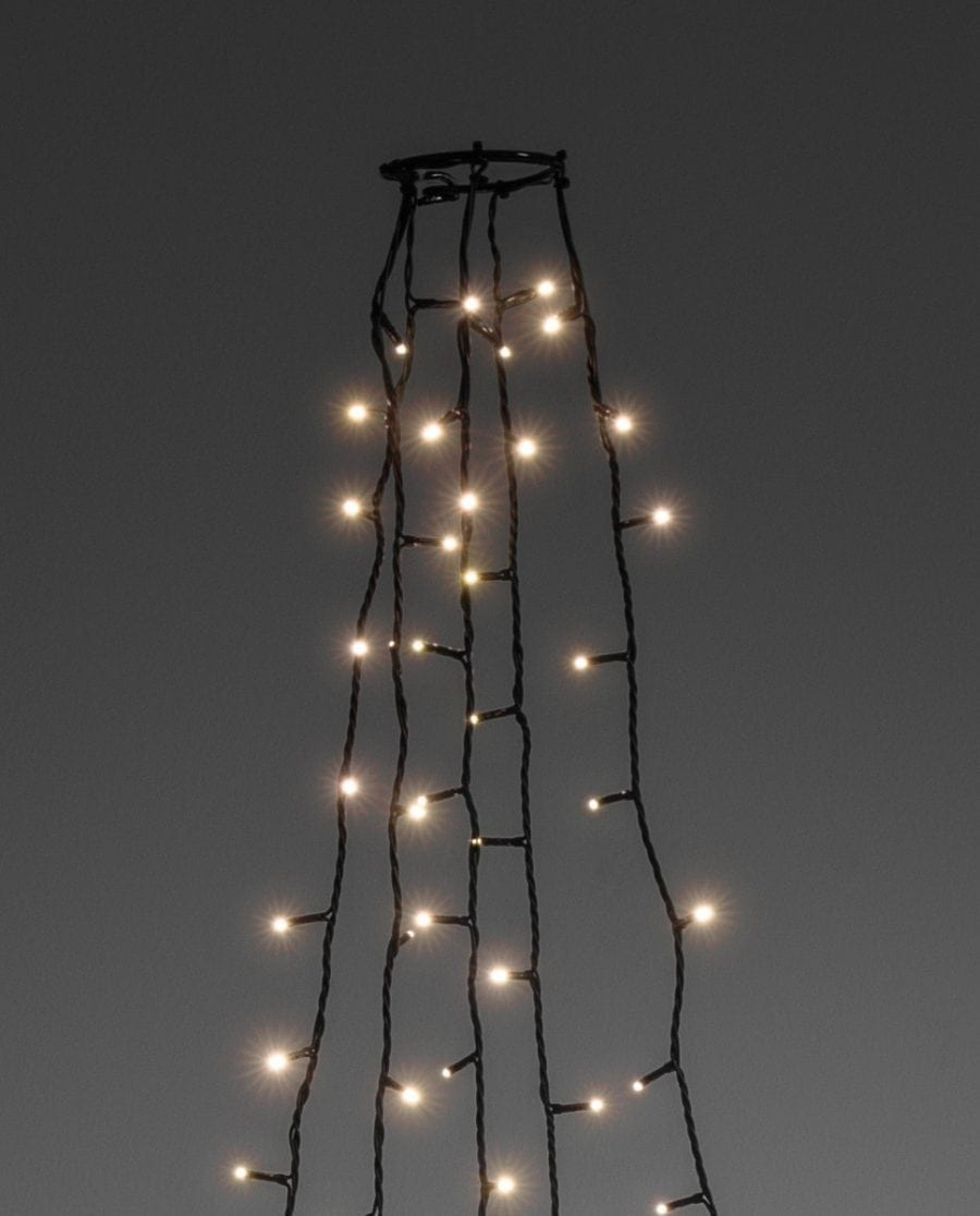 Juletrebelysning LED 5 Lengder 3 m 250 Lys-64235