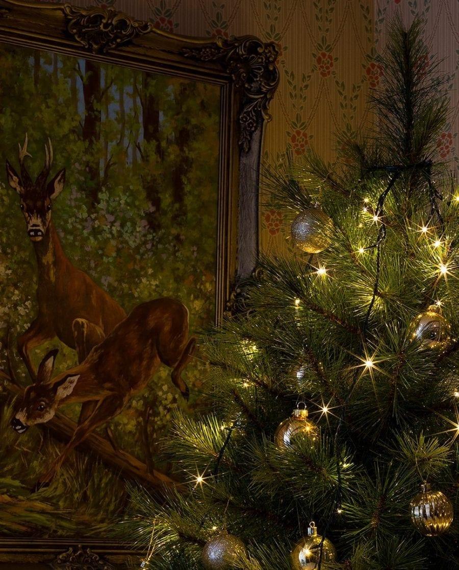Juletrebelysning LED 5 Lengder 2,4 m 200 Lys-64226