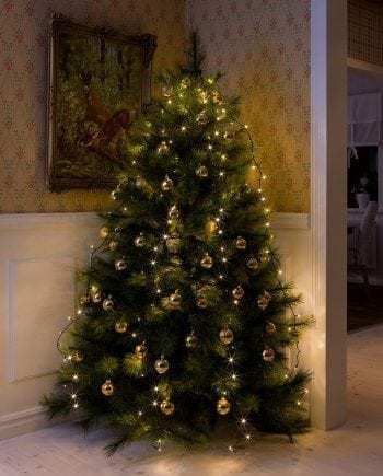 Juletrebelysning LED 5 Lengder 2,4 m 200 Lys-0