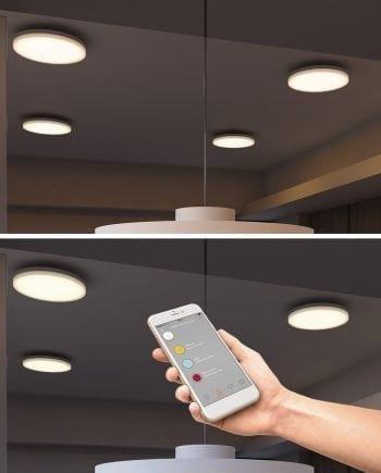 Smart Lighting Sortino-S LED Plafond 2700-6500K-0