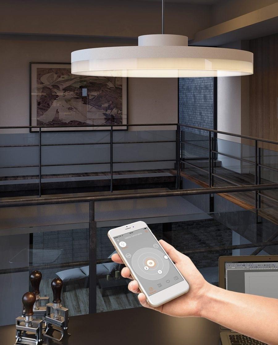 Smart Lighting Sortino-S LED Taklampe 2700-6500K-0