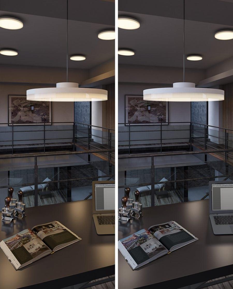 Smart Lighting Sortino-S LED Taklampe 2700-6500K-64865
