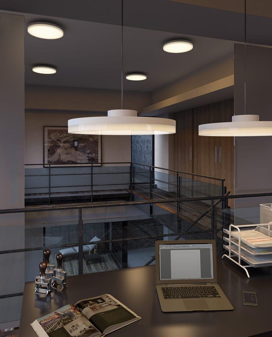 Smart Lighting Sortino-S LED Taklampe 2700-6500K-64867