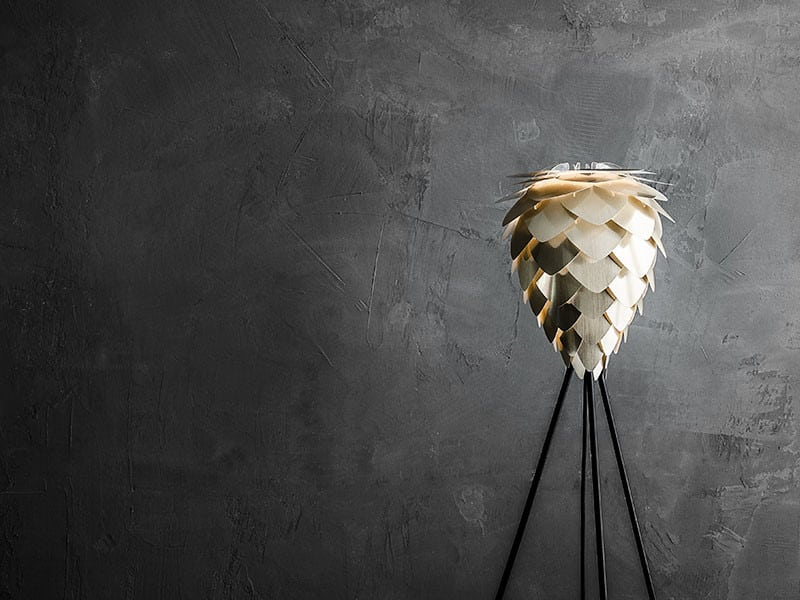 VITA Conia Mini Lampeskjerm Børstet Messing-65822