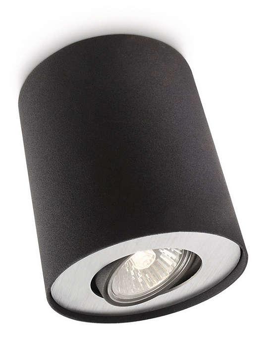 philips myliving pillar singel spot sort. Black Bedroom Furniture Sets. Home Design Ideas