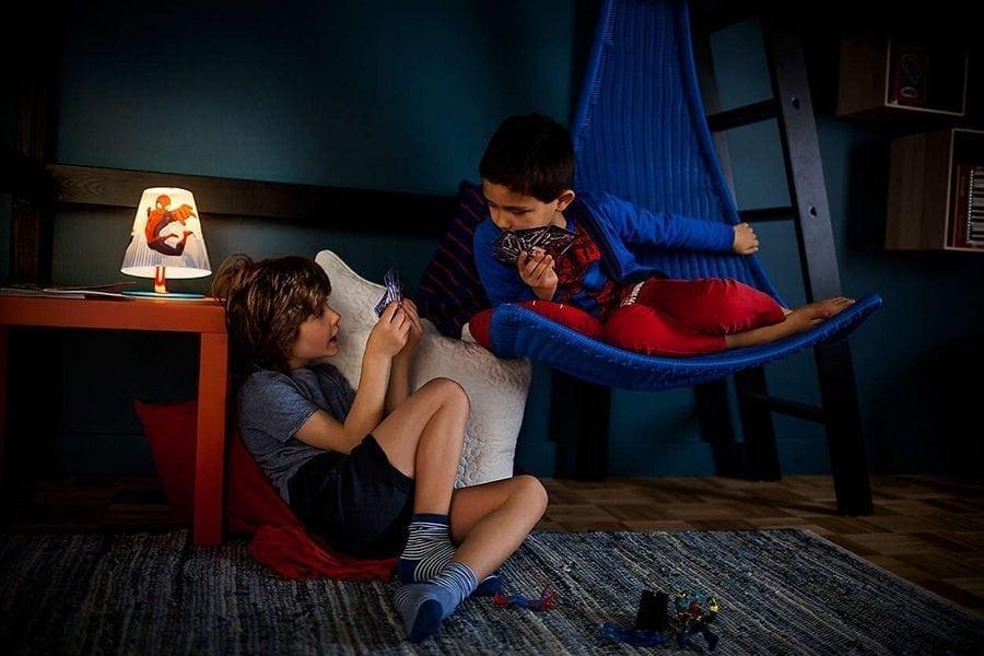 Philips Marvel Spiderman LED Bordlampe-66043