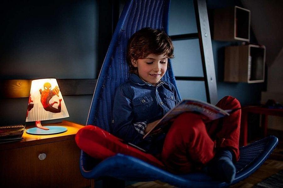 Philips Marvel Spiderman LED Bordlampe-66040