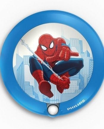 Philips Marvel LED Nattlys med sensor Spiderman-0