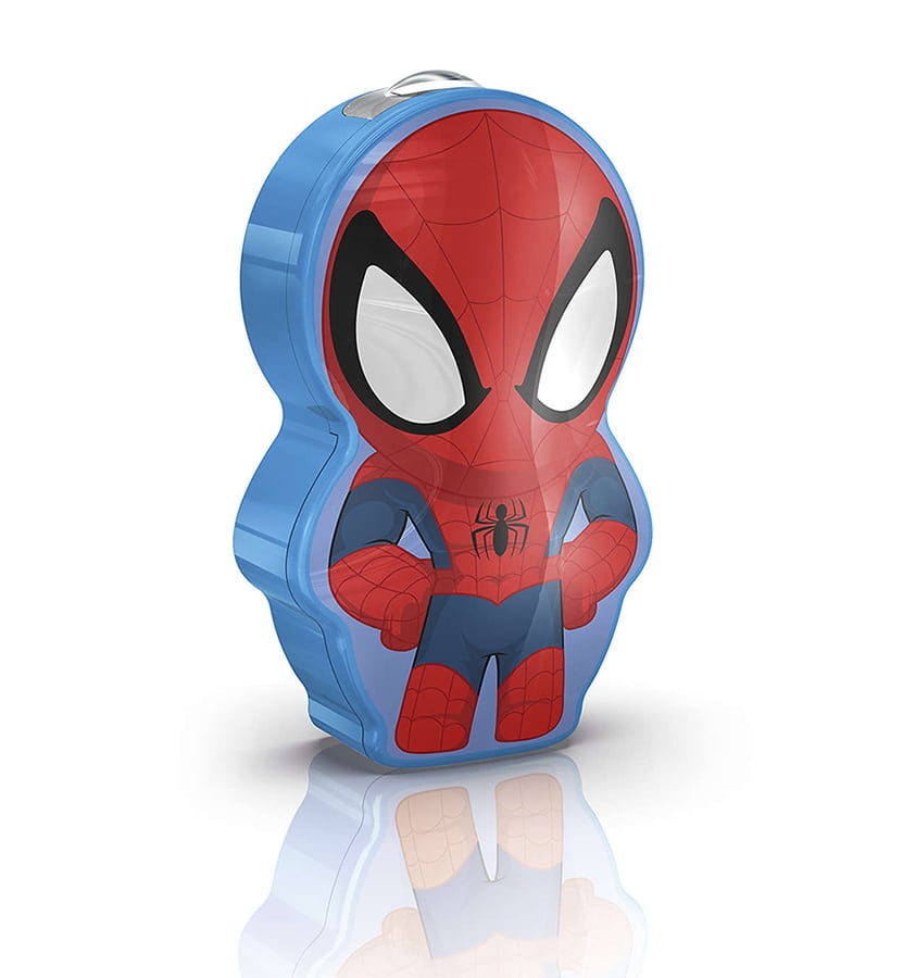 Philips Marvel LED Lommelykt Spiderman-66012