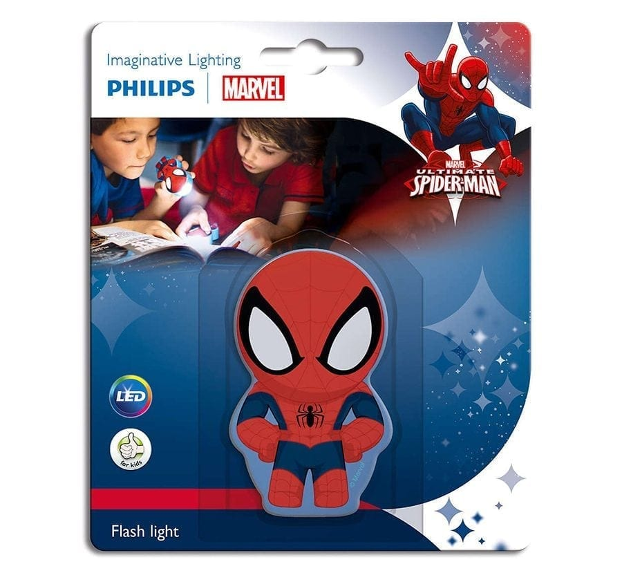 Philips Marvel LED Lommelykt Spiderman-66010