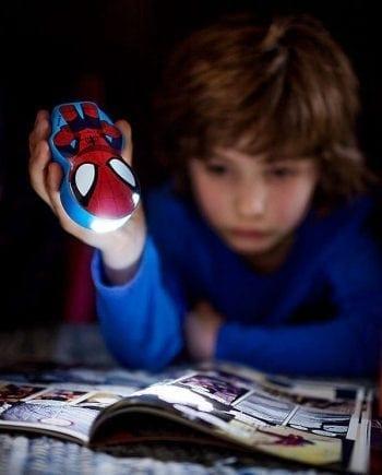 Philips Marvel LED Lommelykt Spiderman-0