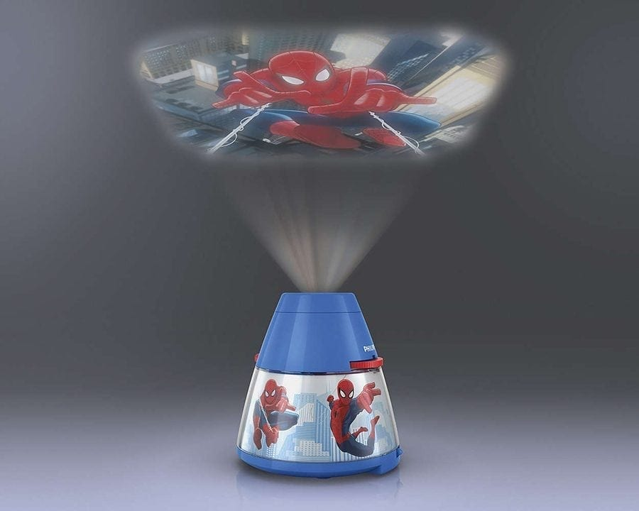 Philips Marvel 2-i-1 LED Projektor og Nattlys Spiderman-66024