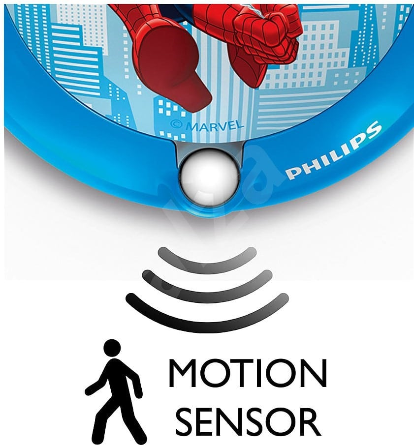 Philips Marvel LED Nattlys med sensor Spiderman-65994