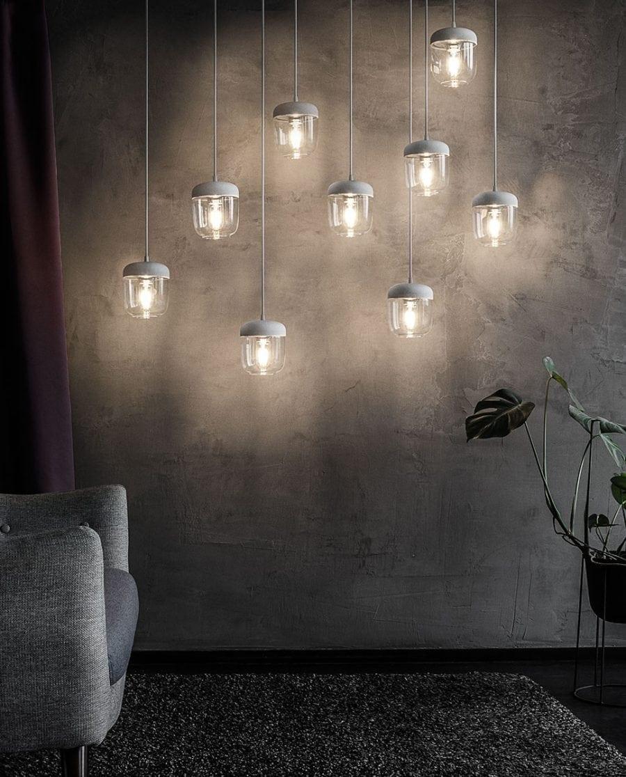 VITA Acorn Lampeskjerm Hvit/Stål-67005