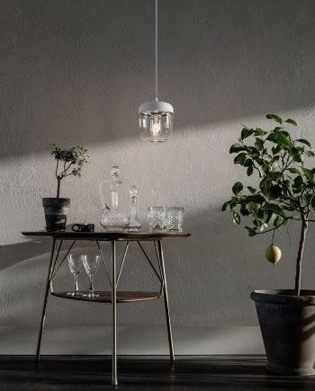 VITA Acorn Lampeskjerm Hvit/Stål-0