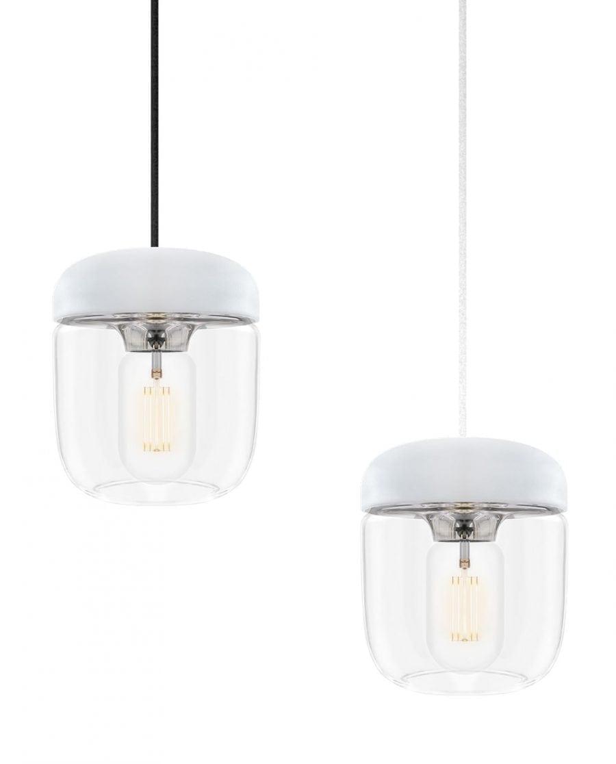 VITA Acorn Lampeskjerm Hvit/Stål-67006