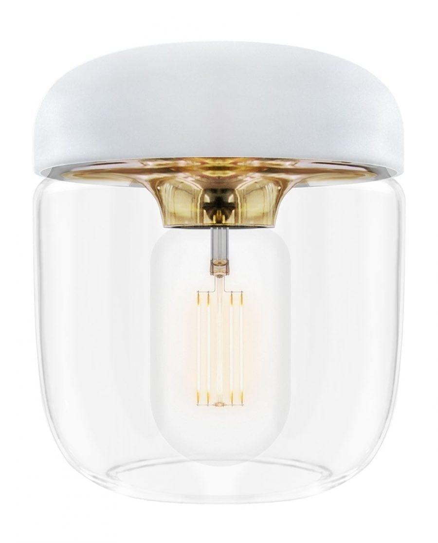 VITA Acorn Lampeskjerm Hvit/Messing-67014