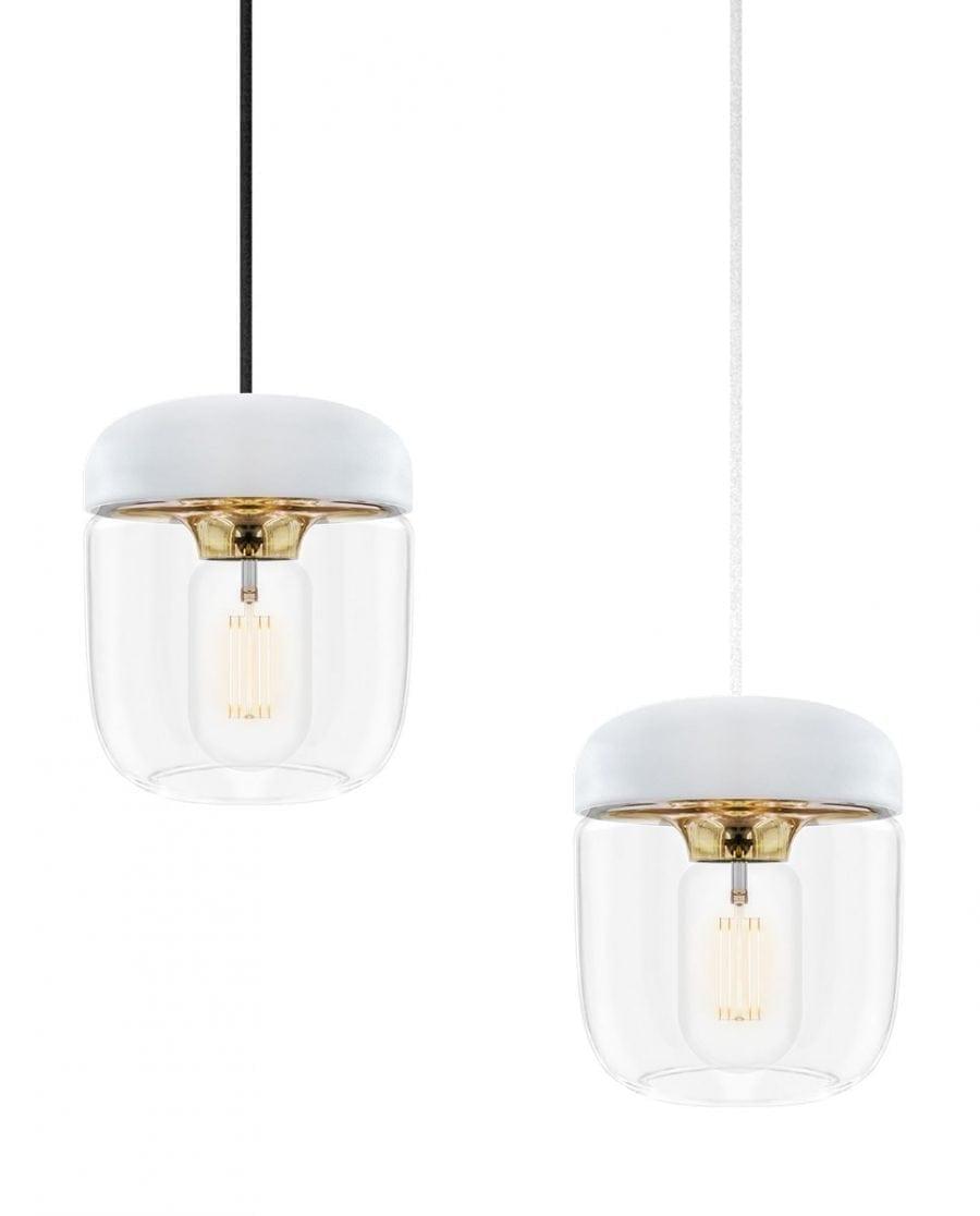 VITA Acorn Lampeskjerm Hvit/Messing-67013