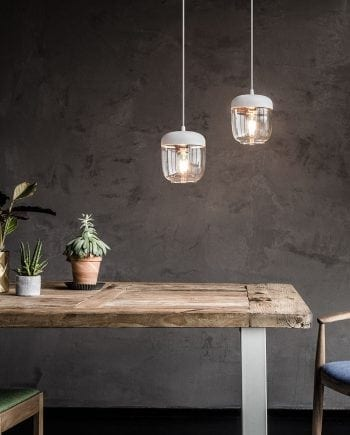 VITA Acorn Lampeskjerm Hvit/Kobber-0