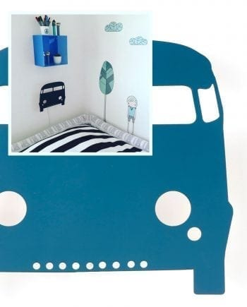 Ferm LIVING Car Vegglampe Petroleum-0