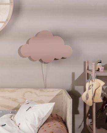 Ferm LIVING Cloud Vegglampe Støvet Rosa-0