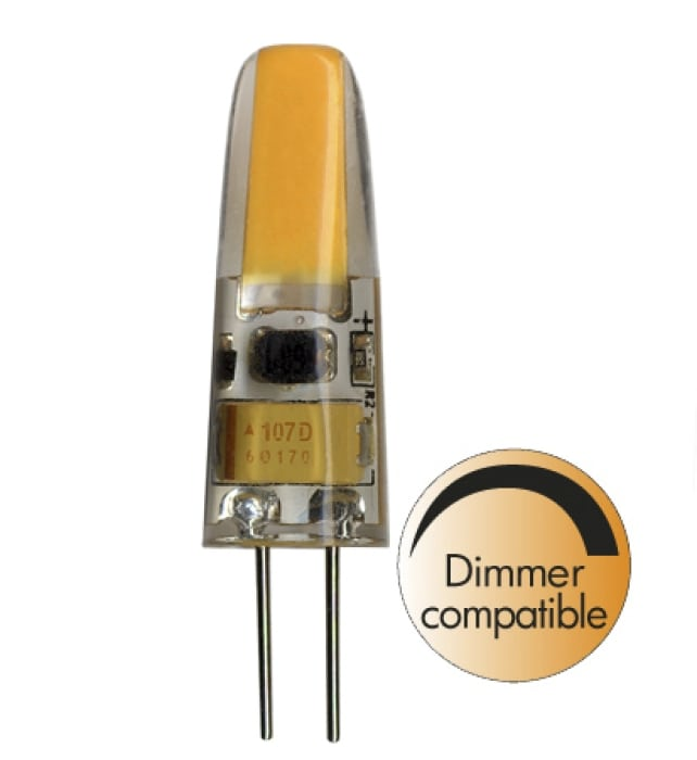 1,4W (=18W) G4 LED Klar Illumination Pære Dimbar-0
