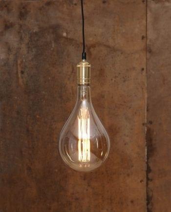 10W (=60W) E27 165x288mm LED Industrial Vintage Pære Dimbar-0