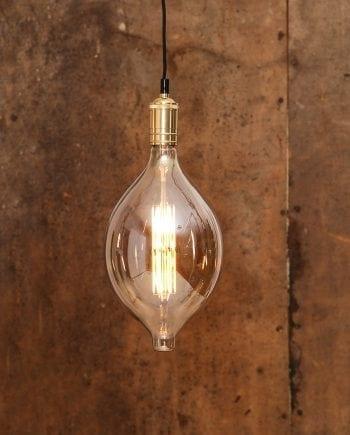 10W (=60W) E27 180x334mm LED Industrial Vintage Pære Dimbar-0