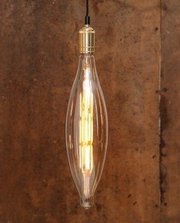 10W (=80W) E27 120x438mm LED Industrial Vintage Pære Dimbar-0