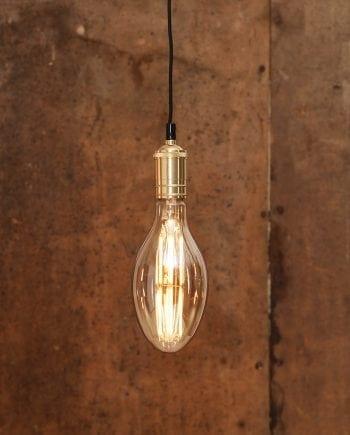 6,5W (=35W) E27 100x227mm LED Industrial Vintage Pære Dimbar-0