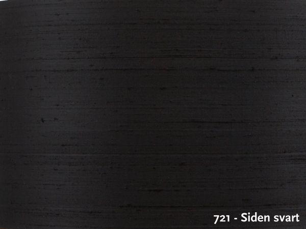 Lampeskjerm 9708-721 Sort Silke-0