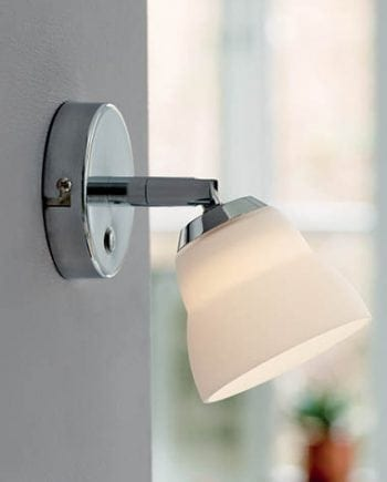 Herstal Fico LED Vegglampe Krom/Glass-0