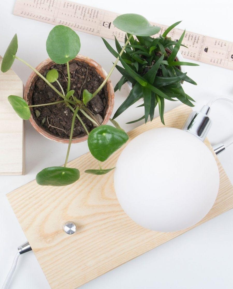 Globen Lighting Orb Ask/Krom Bordlampe-0