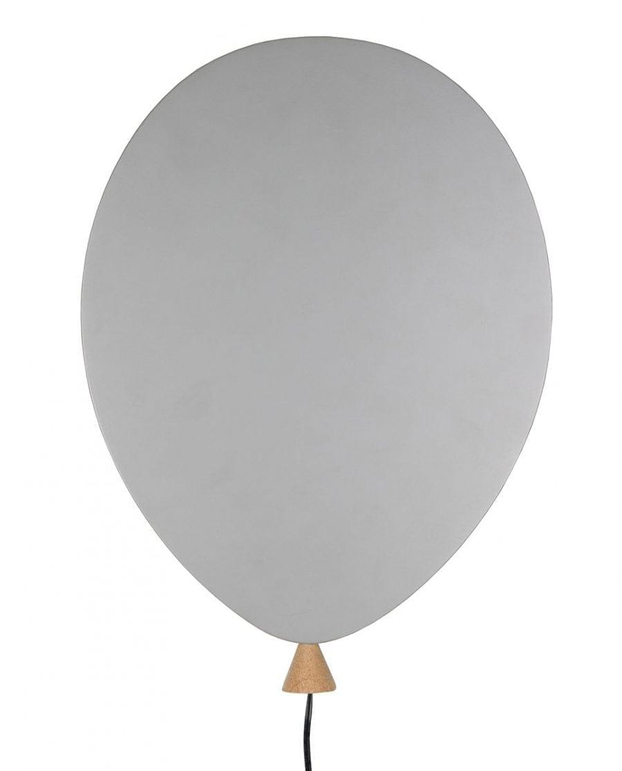 Globen Lighting LED Balloon Grå Vegglampe-67447