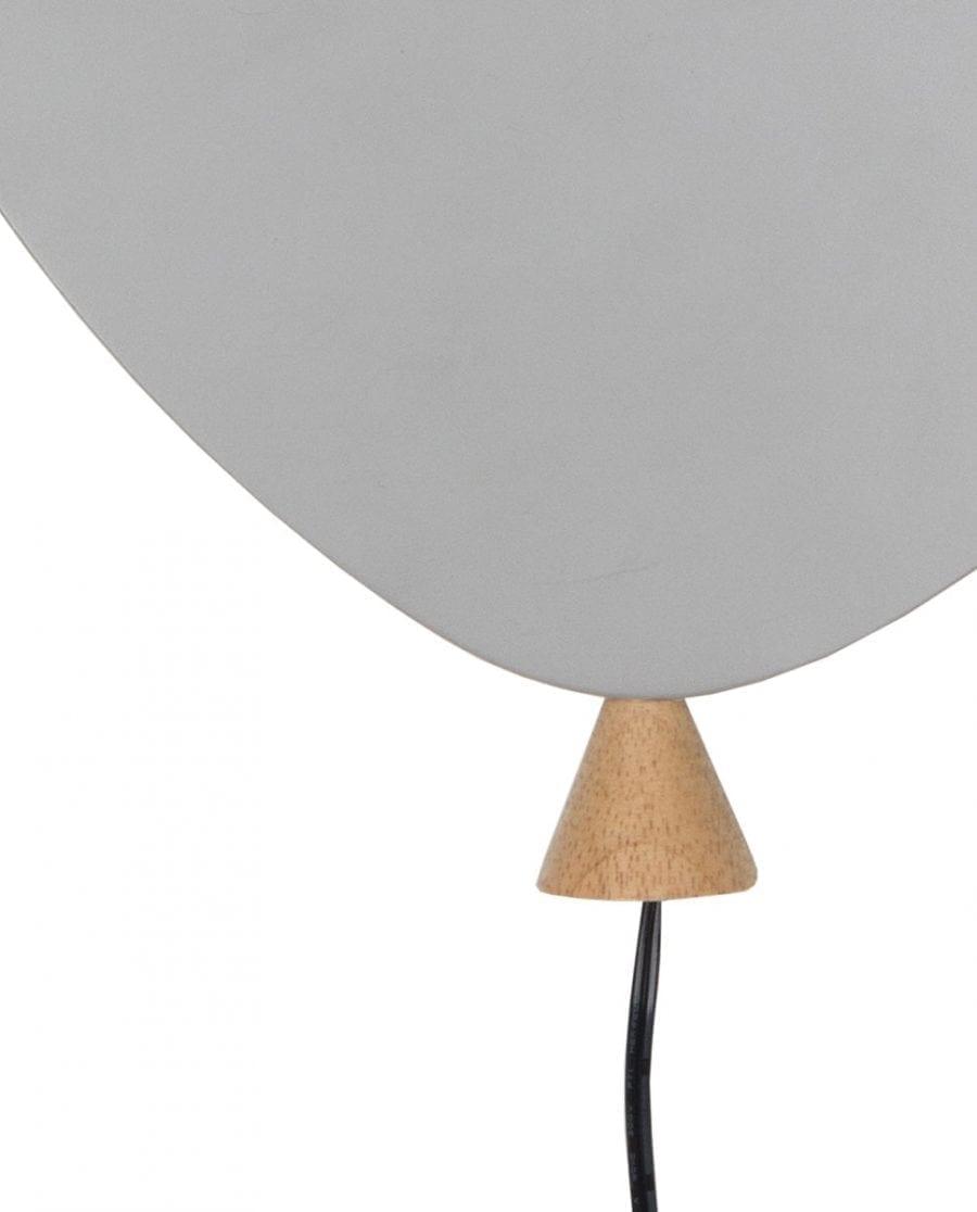 Globen Lighting LED Balloon Grå Vegglampe-67446