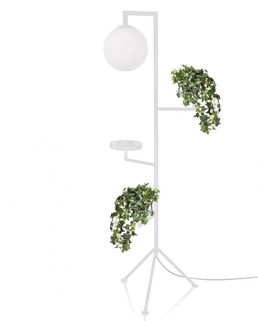 Globen Lighting Astoria Hvit Gulvlampe-0