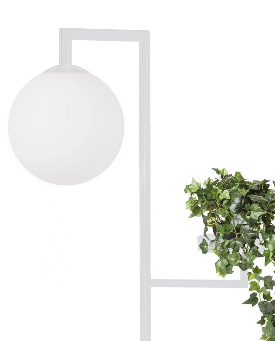 Globen Lighting Astoria Hvit Gulvlampe-67503