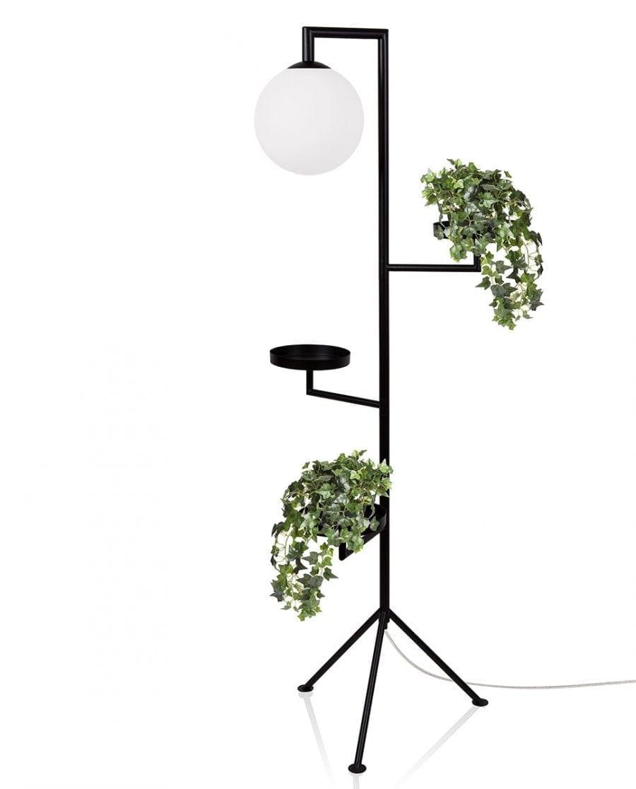 Globen Lighting Astoria Sort Gulvlampe-0