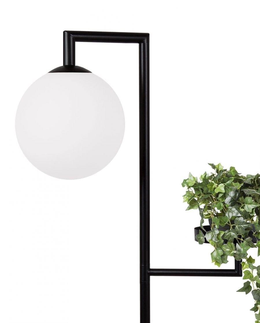 Globen Lighting Astoria Sort Gulvlampe-67511