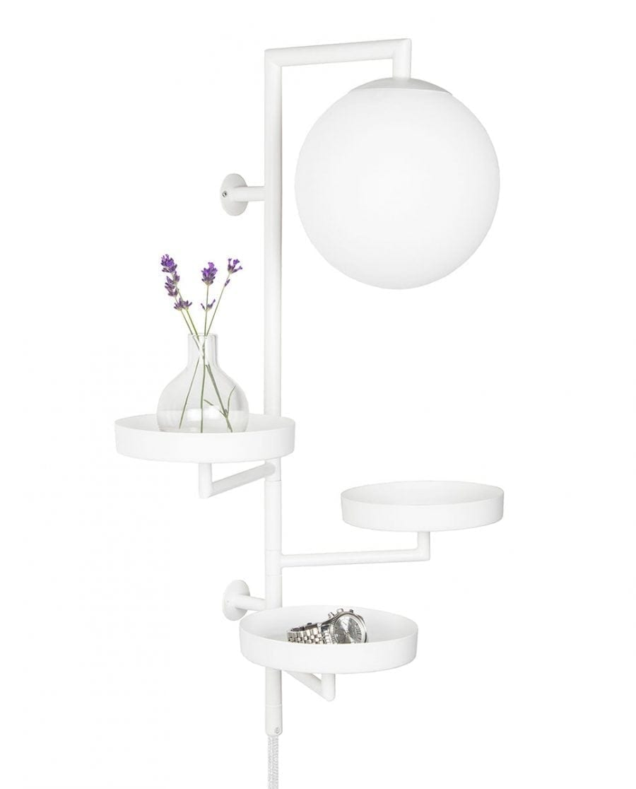 Globen Lighting Astoria Hvit Vegglampe-67454