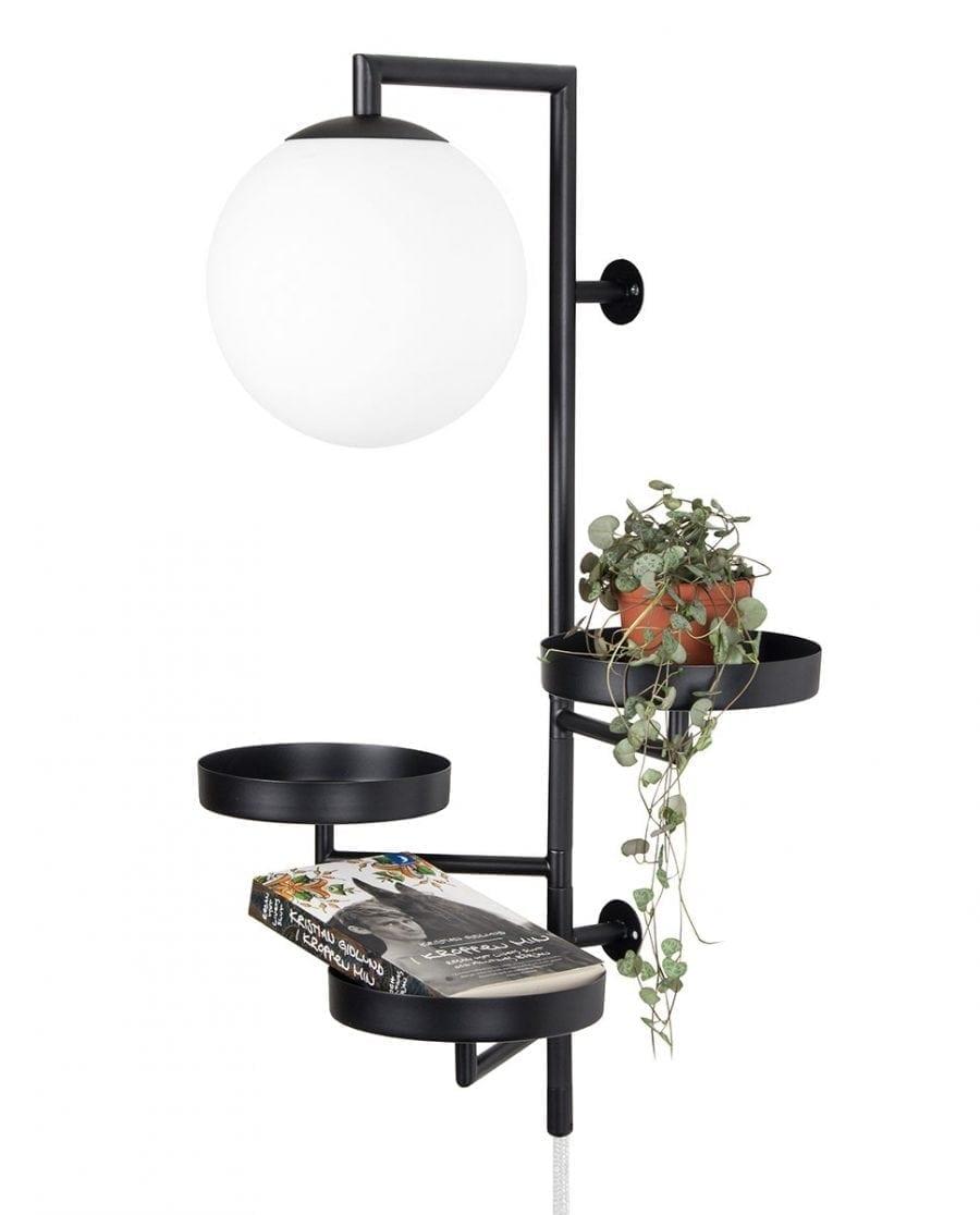 Globen Lighting Astoria Sort Vegglampe-0