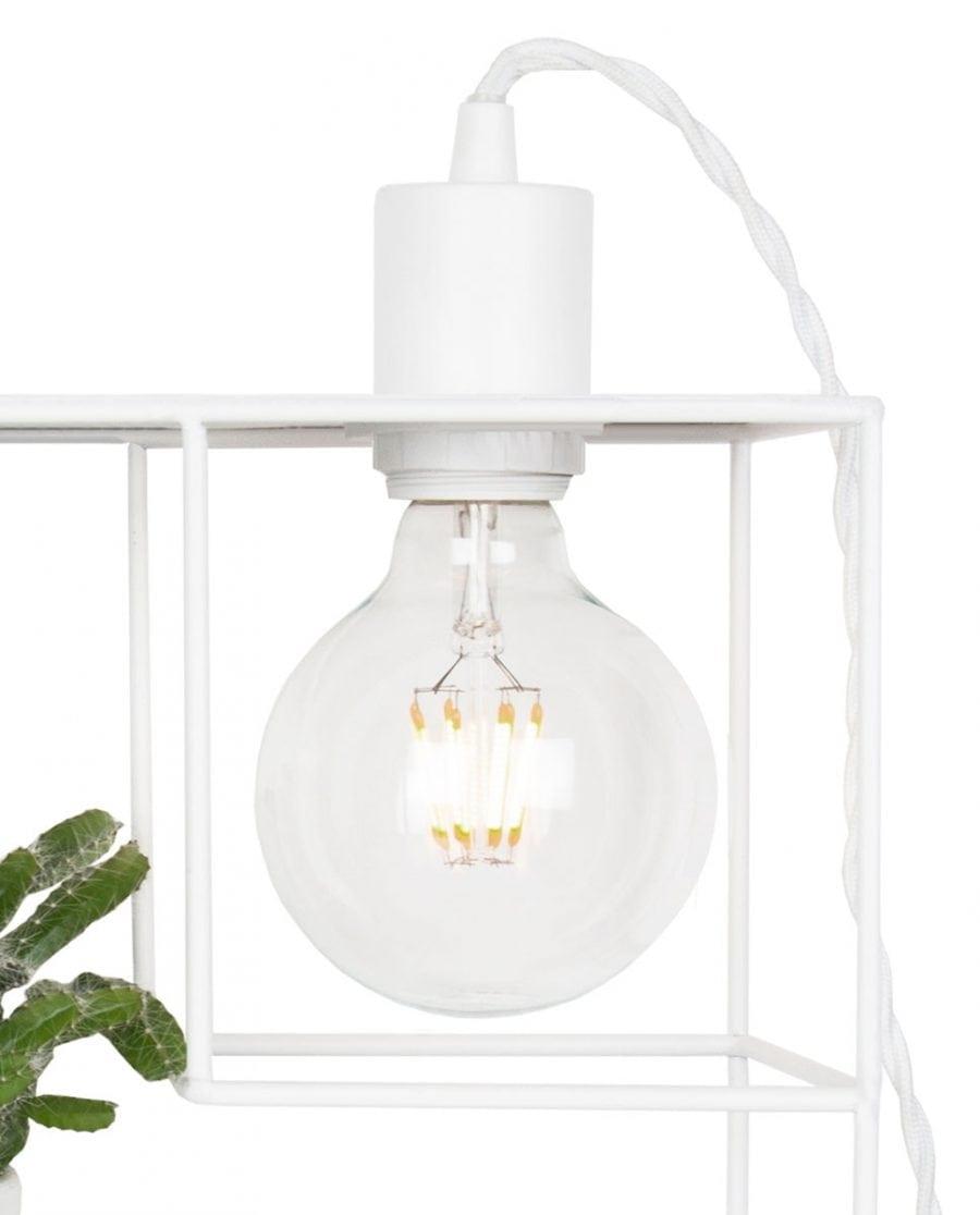 Globen Lighting Shelfie Hvit Vegglampe-67534