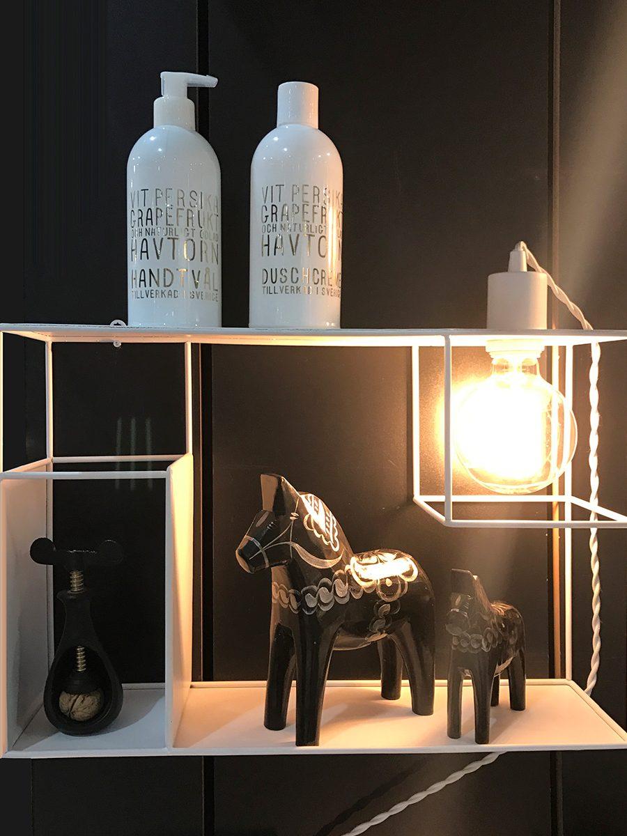 Globen lighting shelfie hvit vegglampe - Globen lighting ...