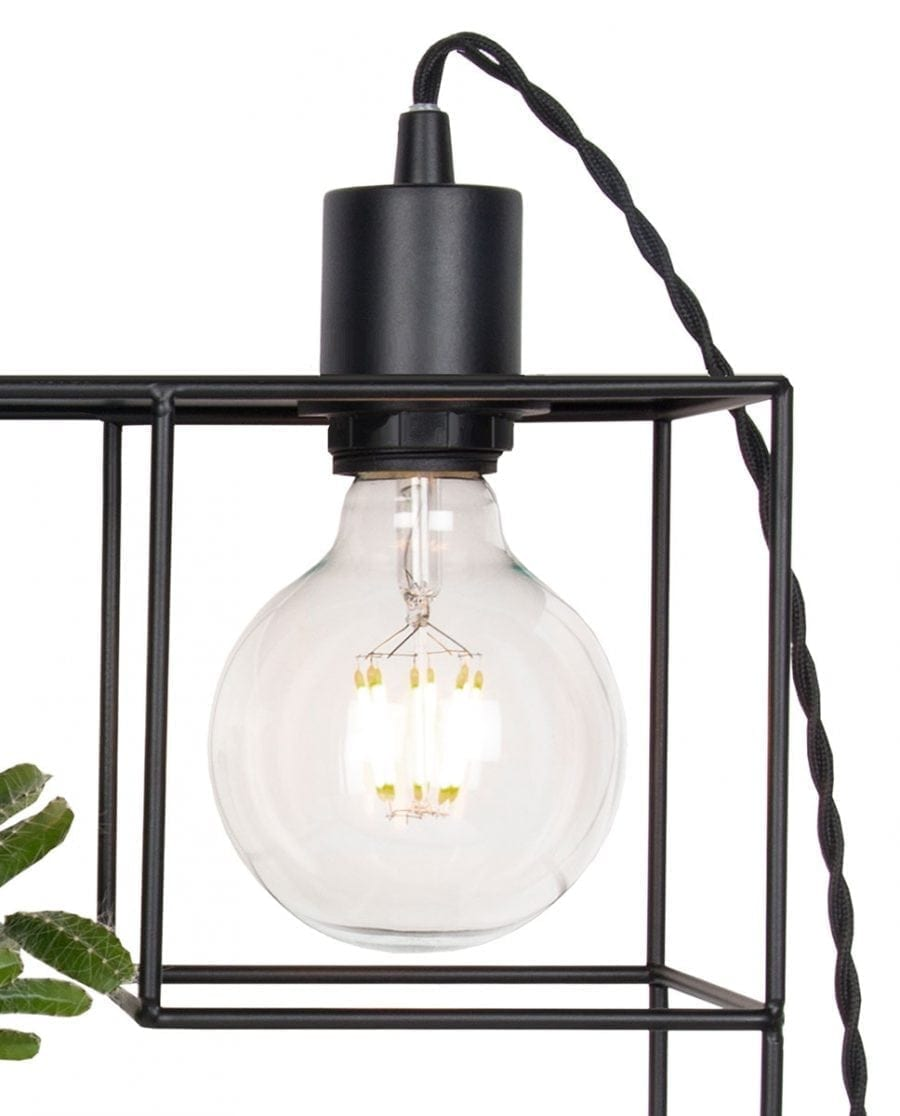 Globen Lighting Shelfie Sort Vegglampe-67552