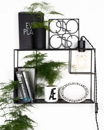 Globen Lighting Shelfie Sort Vegglampe-0