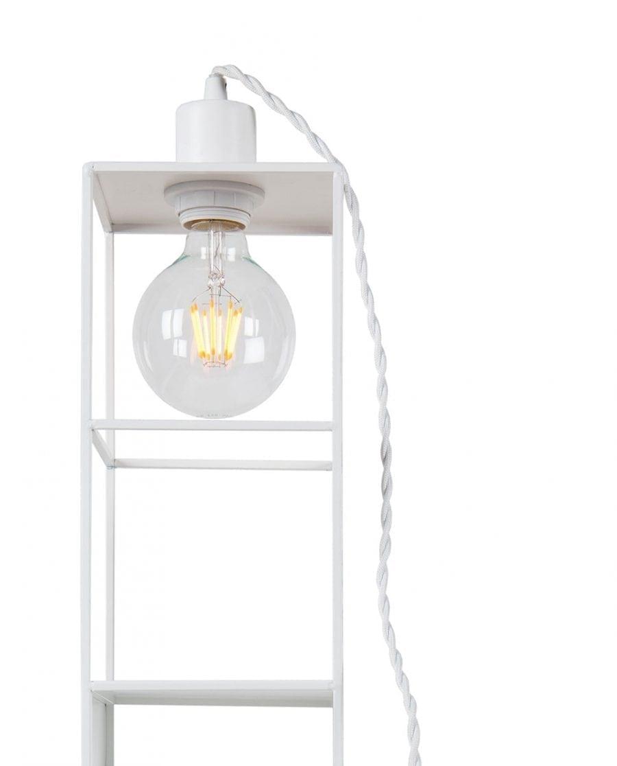 Globen Lighting Shelfie Long Hvit Vegglampe-67563