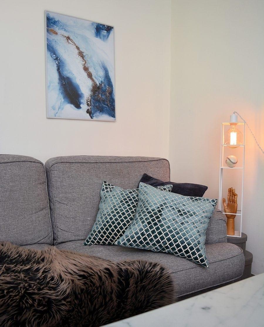 Globen Lighting Shelfie Long Hvit Vegglampe-70573