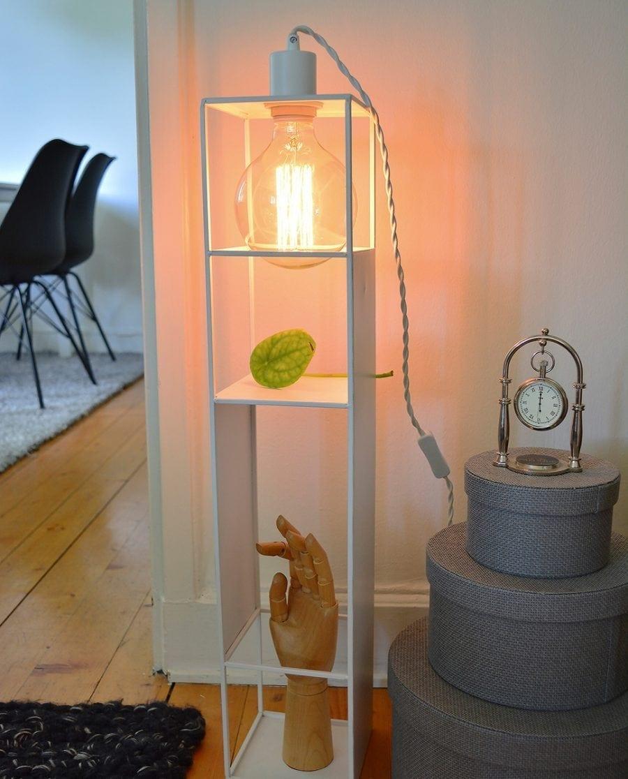Globen Lighting Shelfie Long Hvit Vegglampe-0