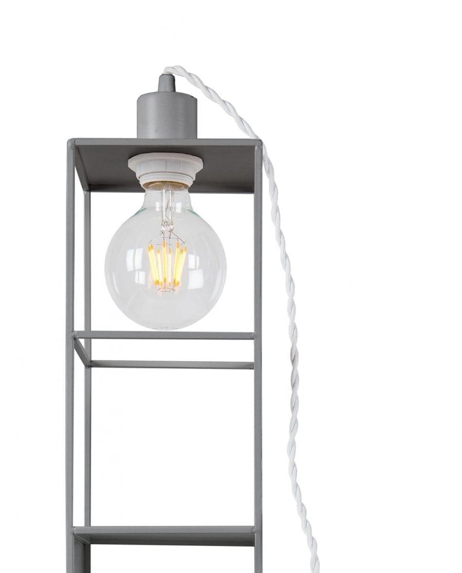 Globen Lighting Shelfie Long Grå Vegglampe-67573